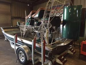 Used Hamant Air BoatAir Boat Air Boat For Sale