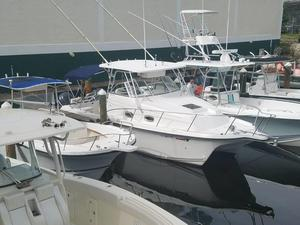Used Prokat 2860 Walk Around Saltwater Fishing Boat For Sale