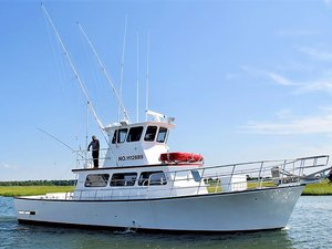Used Carman Seaflex Walkaround Bluewater Fishing Boat For Sale