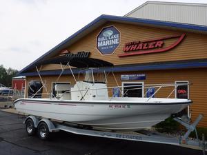 Used Boston Whaler 220 Dauntless Saltwater Fishing Boat For Sale