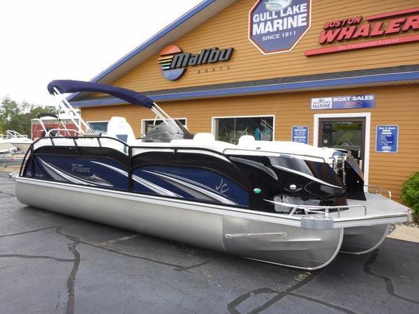 New Jc Tritoon 24 SportToon DSL Pontoon Boat For Sale