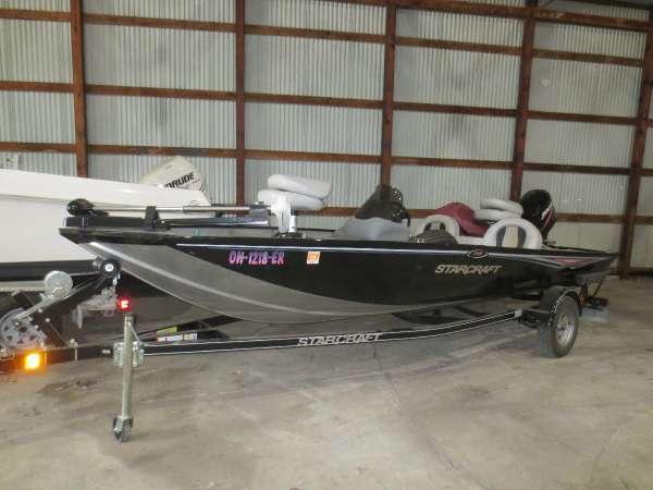 Used Starcraft Marine 178 SC Freshwater Fishing Boat For Sale