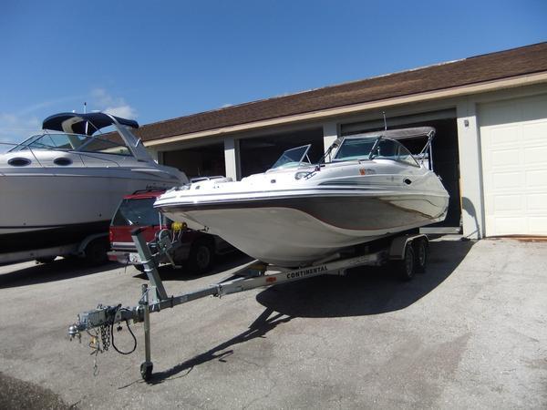 Used Hurricane 217 Sundeck Bowrider Boat For Sale