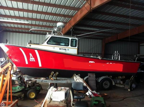 Used C-Hawk 25 Cabin Utility Boat For Sale
