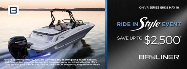 New Bayliner VR5 BowriderVR5 Bowrider Deck Boat For Sale