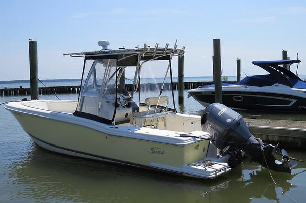 Used Scout 235 Sport Center Console Center Console Fishing Boat For Sale