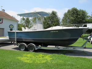 Used Shamrock 22 Cuddy Center Console Fishing Boat For Sale