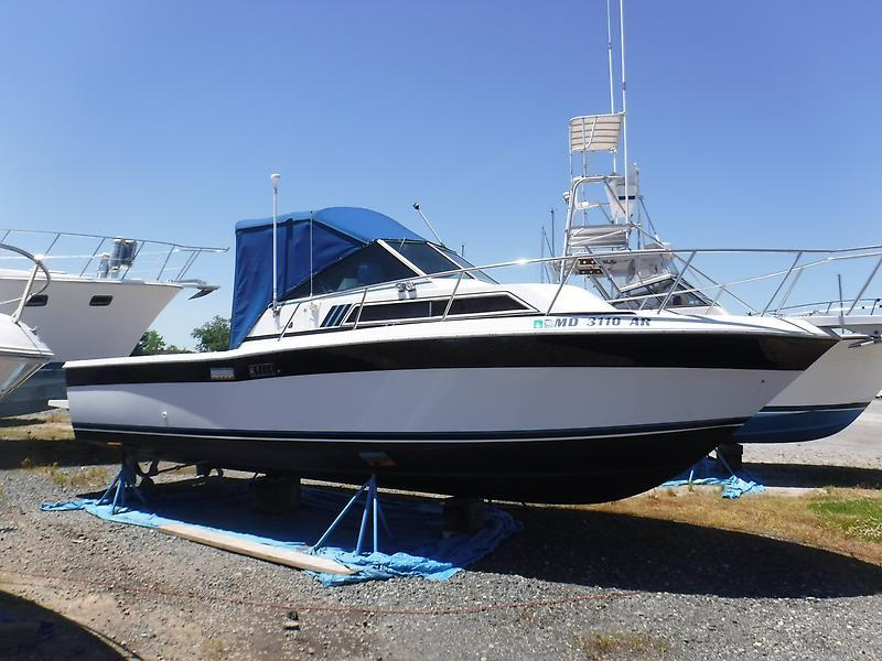 1986 used wellcraft coastal center console fishing boat for Used fishing boats for sale in md