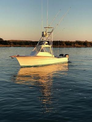 Used Heritage Yacht Custom Carolina Walkaround Express Walkaround Fishing Boat For Sale