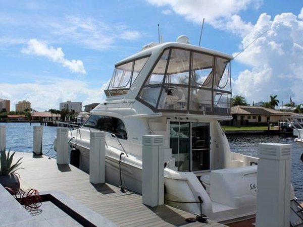 Used Sea Ray 480 Sedan Bridge Flybridge Boat For Sale