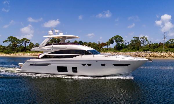 Used Princess Yachts Flybridge 68 Motoryacht Flybridge Boat For Sale