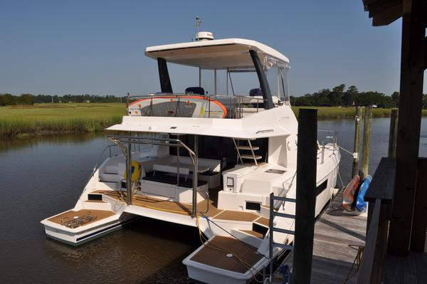 Used Leopard 43 PC Owners Version Power Catamaran Boat For Sale