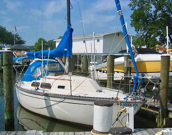 Used Amf Paceship PY26 Sloop Sailboat For Sale