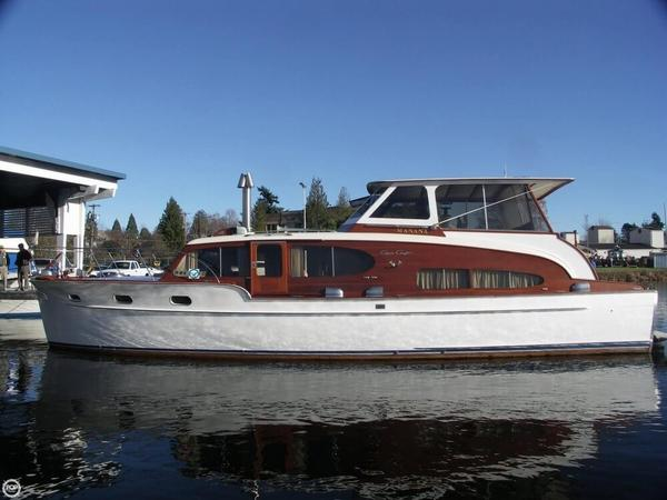 Used Chris-Craft 46 Double Cabin Flybridge Antique and Classic Boat For Sale