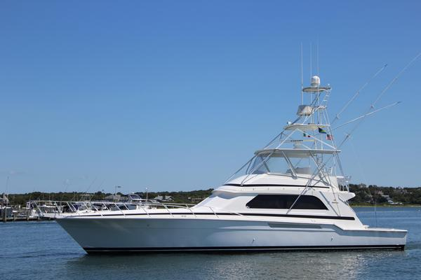 Used Bertram 60 Convertible Sports Fishing Boat For Sale