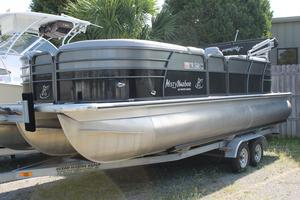 Used Misty Harbor 2285CU TRITOON Pontoon Boat For Sale