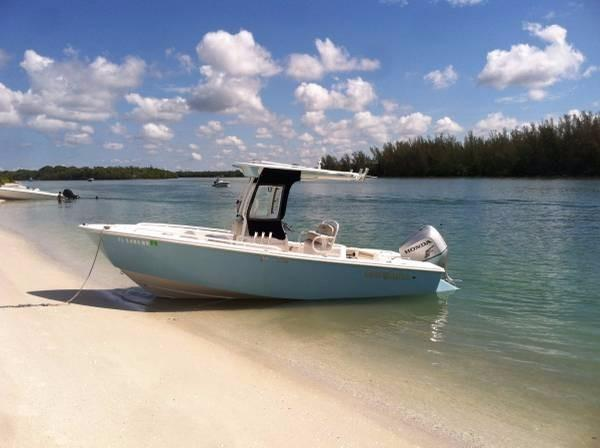 Used Everglades 211CC Sports Fishing Boat For Sale