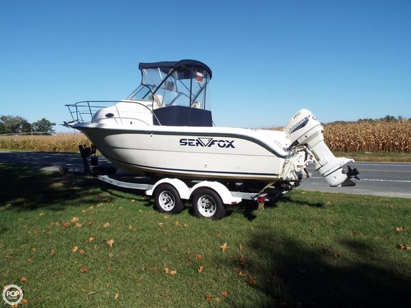 Used Sea Fox 230 Walkaround Fishing Boat For Sale