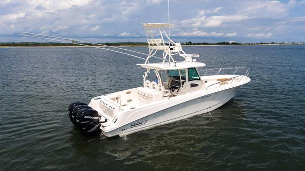 Used Boston Whaler 370 Outrage Saltwater Fishing Boat For Sale