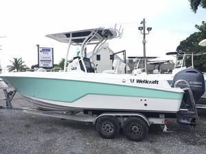 New Wellcraft 222 Fisherman Center Console Fishing Boat For Sale