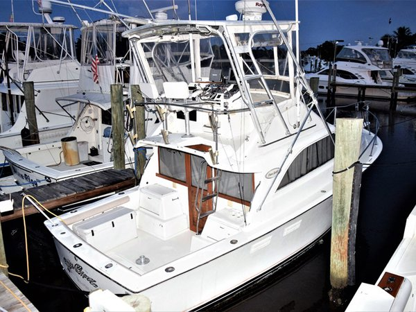 Used Ocean Yachts Super Sport Flybridge Boat For Sale