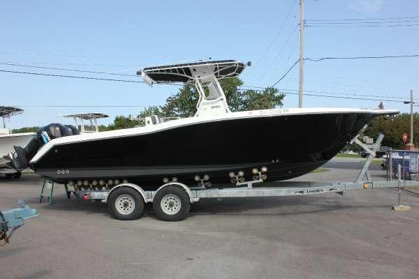 Used Triton Boats 2859 Center Console Center Console Fishing Boat For Sale