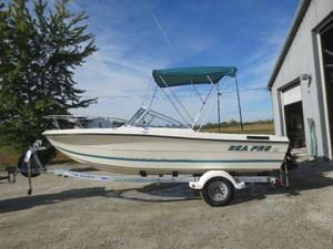 Used Sea Pro 190 Freshwater Fishing Boat For Sale