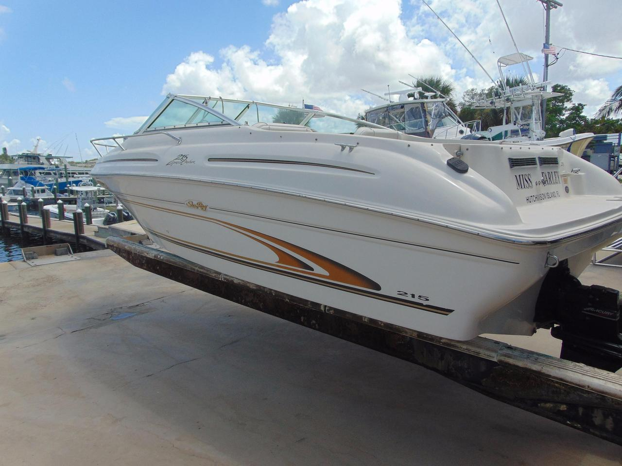 ... Used Sea Ray 215 Express Cruiser215 Express Cruiser Boat For Sale ...