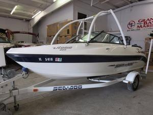 Used Sea-Doo UTOPIA 205 BOMBARDIER Ski and Wakeboard Boat For Sale