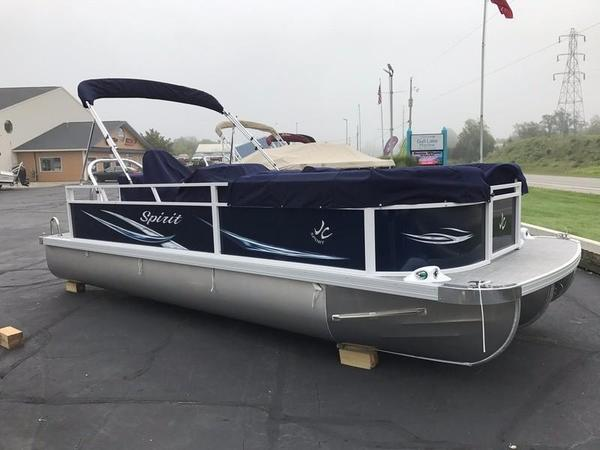 New Jc Tritoon Spirit 222 TT Sport Pontoon Boat For Sale
