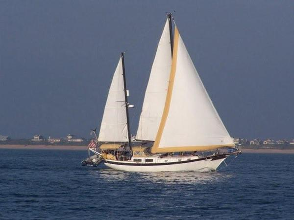 Used Downeaster Cutter Ketch Cutter Sailboat For Sale
