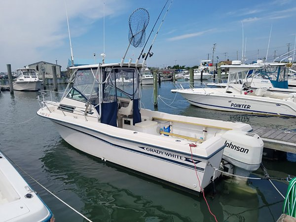 Used Grady White 24 Explorer Walkaround Fishing Boat For Sale