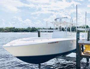Used Sea Vee Power Center Console Fishing Boat For Sale