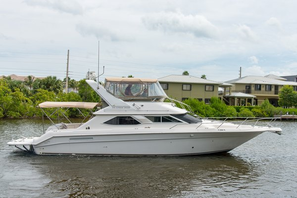 Used Sea Ray Express Bridge Sports Fishing Boat For Sale