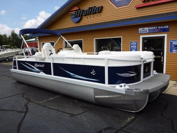 Used Jc Tritoon Spirit 245TT Sport Pontoon Boat For Sale