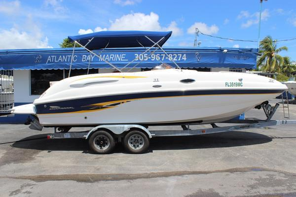 Used Chaparral Sunesta 242 Deck Boat For Sale
