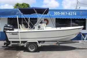 Used Mako 171 Center Console Saltwater Fishing Boat For Sale