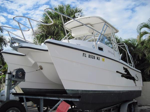 Used Pro Sports 2200 WA ProKat Saltwater Fishing Boat For Sale