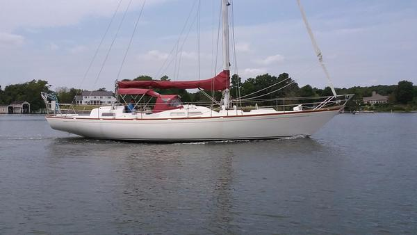Used Bowman CC Sloop Cruiser Sailboat For Sale