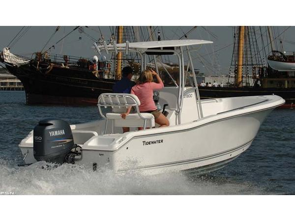Used Tidewater Boats 216CC Adventure Center Console Fishing Boat For Sale