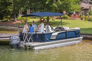 New Aqua Patio 195 CB Pontoon Boat For Sale