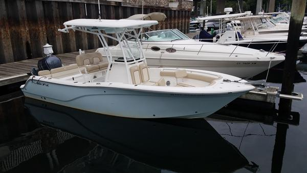 Used Sea Fox 246 Commander Saltwater Fishing Boat For Sale