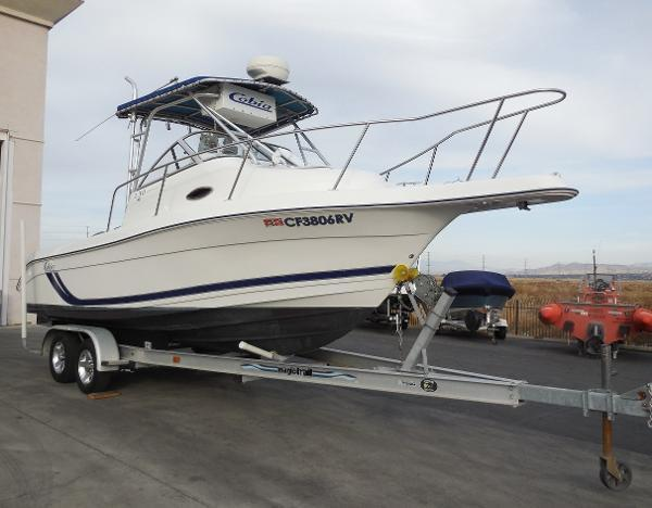 Used Cobia Boats Saltwater Fishing Boat For Sale