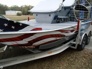 Used Custom Built 16 Air Boat For Sale