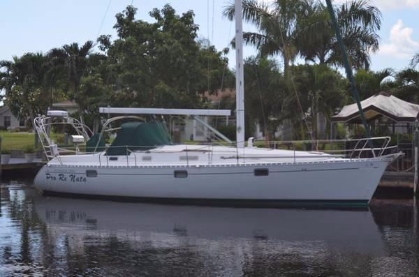 Used Beneteau Oceanis 400 Motorsailer Boat For Sale