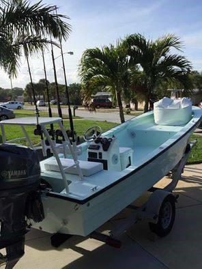 Used Panga Skiff Boat For Sale