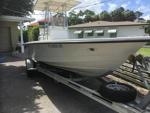 Used 2001 Pathfinder V2400 Saltwater Fishing Boat For Sale