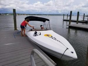 Used Wellcraft Scarab 22 Cruiser Boat For Sale