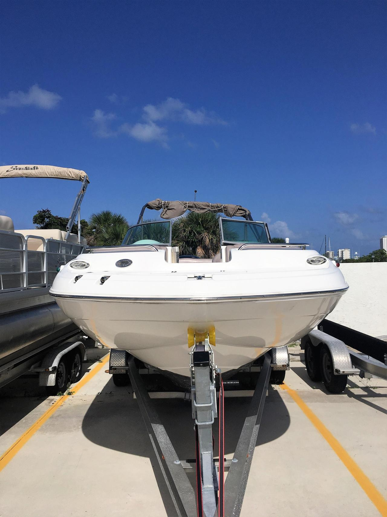 2015 used hurricane sundeck 2400 ob deck boat for sale for Hurricane sundeck for sale