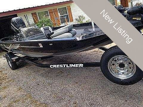 Used Crestliner 18 TC Bass Boat For Sale